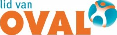 Logo 'Lid van Oval'